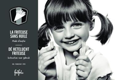 Frifri De Hetelucht Friteuse RETRO – Instructies voor gebruik
