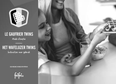 Frifri Het Wafelijzer TWINS – Instructies voor gebruik