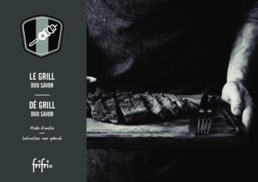 Frifri De Grill DUO SAVOR – Instructies voor gebruik