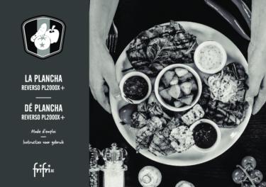 Frifri  De Plancha REVERSO – Instructies voor gebruik